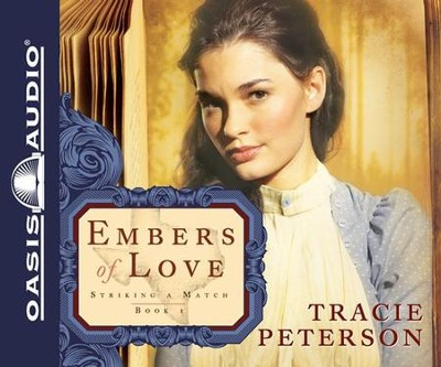 #1: Embers of Love Unabridged Audiobook on CD  -     Narrated By: Adam Verner     By: Tracie Peterson
