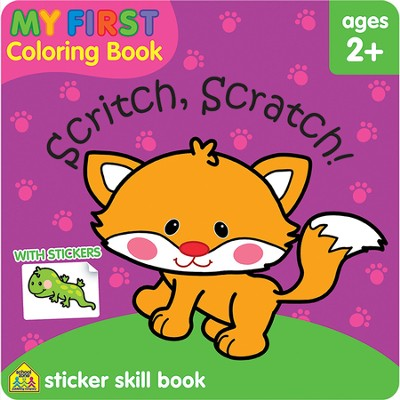 My First Coloring Book: Scritch, Scratch Workbook   -