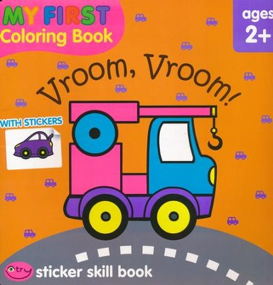 My First Coloring Book: Vroom, Vroom! Workbook   -