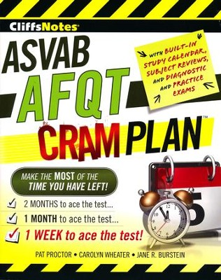 CliffsNotes ASVAB AFQT Cram Plan  -     By: Jane R. Burstein, Carolyn Wheater, Pat Proctor