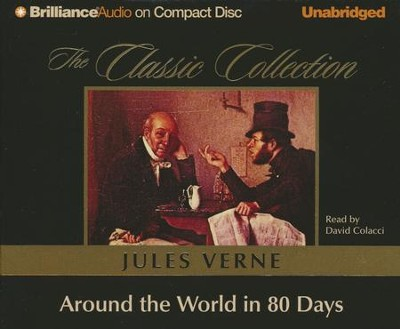 Around the World in 80 Days - unabridged audio book on CD  -     Narrated By: David Colacci     By: Jules Verne