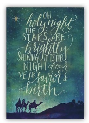 Bethlehem Cards, Box of 18  -