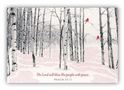 Lord Will Bless His People Cards, Box of 18  -