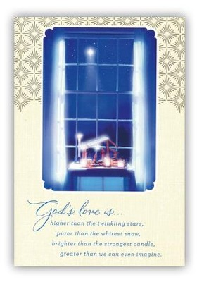 God's Love Cards, Box of 18  -