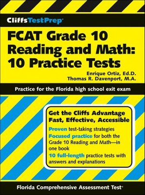 CliffsTestPrep FACT Grade 10 Reading and Math: 10Practice Tests  -     By: Thomas R. Davenport, Enrique Ortiz