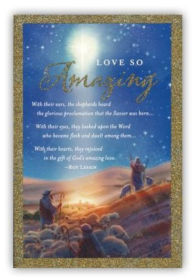 Messiah, Love So Amazing Cards, Box of 18  -