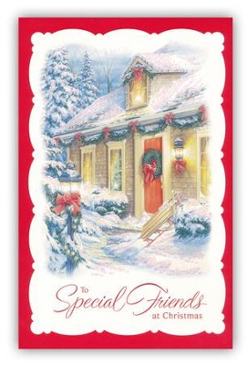 Special Friends at Christmas Cards, Box of 18  -
