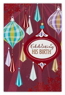 Celebrating His Birth Cards, Box of 18  -