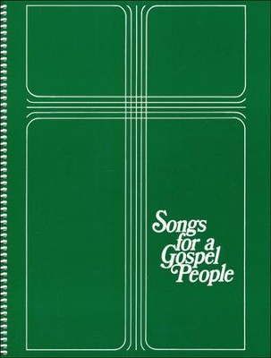 Songs for a Gospel People: Words & Music Large Print  -     Edited By: R. Gerald Hobbs     By: R.Gerald Hobbs(Ed.)