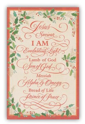 Jesus Saviour Cards, Box of 18  -