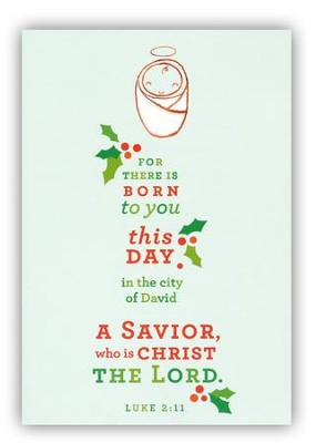 For there Is Born To You Cards, Box of 18  -