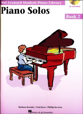 Piano Solos-Book 2 (Book/Enhanced CD Pack)   -