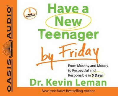 Have a New Teenager by Friday Unabridged Audiobook on CD  -     By: Dr. Kevin Leman