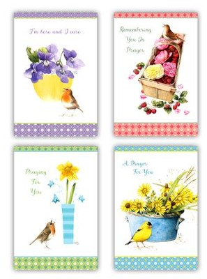 Nature's Blessings, Praying For You Cards, Box of 12  -     By: Marjolien Bastin