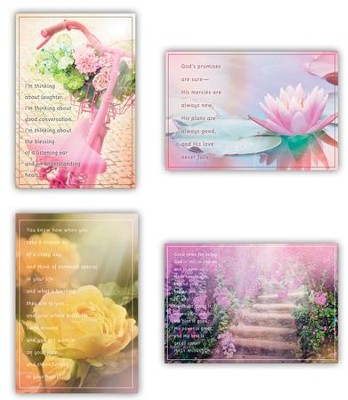 Flowers, Thinking Of You Cards, Box of 12  -