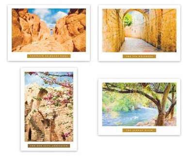 Ministry Appreciation, Holy Land Cards, Box of 12  -