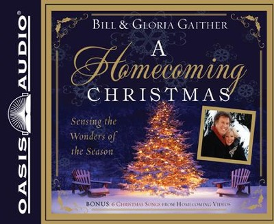 A Homecoming Family Christmas Unabridged Audiobook on CD  -     By: Bill Gaither, Gloria Gaither