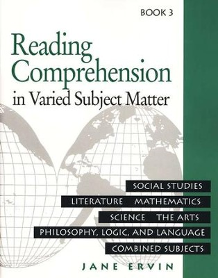 Reading Comprehension in Varied Subject Matter, Book 3, Grade 5   -     By: Jane Ervin