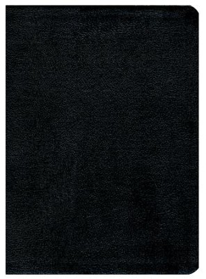 KJV Study Bible, Black Genuine Leather, Indexed  -