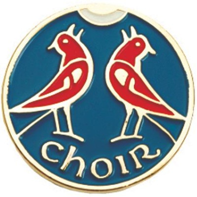 Enameled Choir Lapel Pin   -