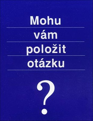 May I Ask You a Question? - Czech Pack of 25  -