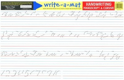 Melissa & Doug Handwriting Write-a-Mat  -
