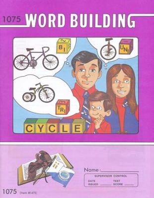 Word Building PACE 1075, Grade 7   -