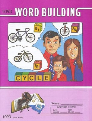 Word Building PACE 1093, Grade 8   -