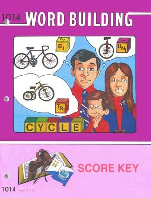 Word Building PACE SCORE Key 1014, Grade 2   -