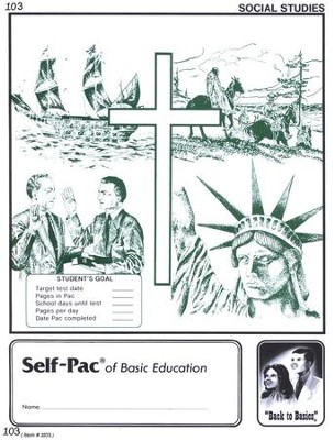 World History Self-Pac 103, Grade 10   -