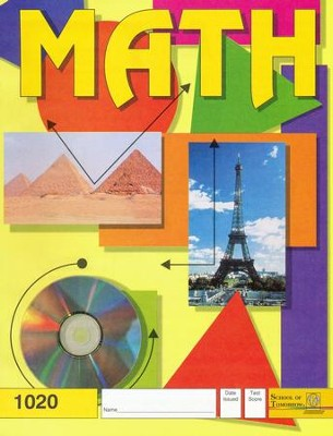 Latest Edition Math PACE 1020, Grade 2   -