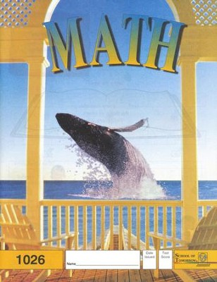 Latest Edition Math PACE 1026, Grade 3   -