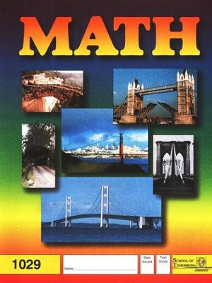 Latest Edition Math PACE 1029 Grade 3  -