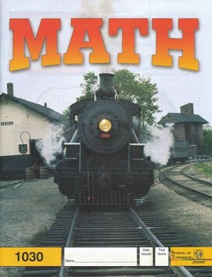 Latest Edition Math PACE 1030, Grade 3   -