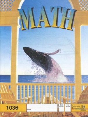 Latest Edition Math PACE 1036 Grade 3  -