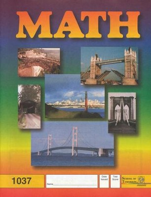 Latest Edition Math PACE 1037 Grade 4  -