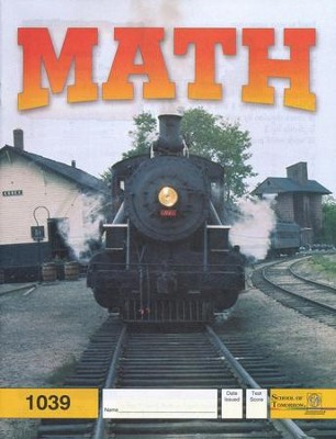 Latest Edition Math PACE 1039 Grade 4  -