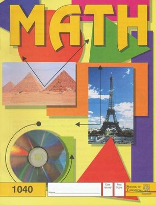 Latest Edition Math PACE 1040 Grade 4  -