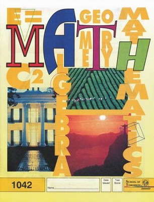 Latest Edition Math PACE 1042 Grade 4  -