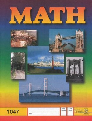 Latest Edition Math PACE 1047 Grade 4  -
