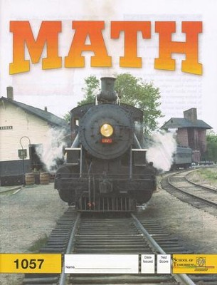 Latest Edition Math PACE 1057, Grade 5   -