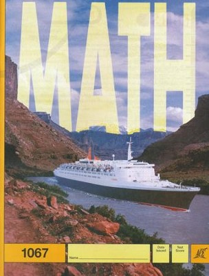 Latest Edition Math PACE 1067, Grade 6   -