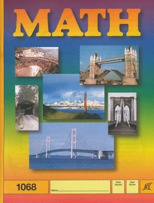 Latest Edition Math PACE 1068, Grade 6   -