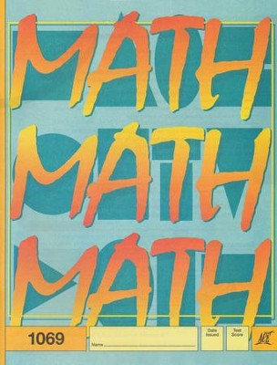 Latest Edition Math PACE 1069, Grade 6   -
