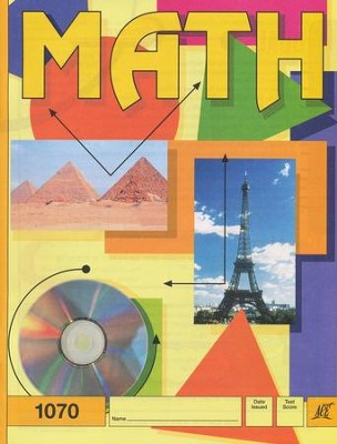 Latest Edition Math PACE 1070, Grade 6   -