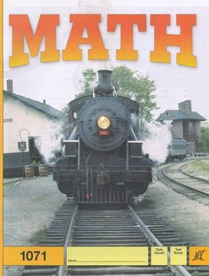 Latest Edition Math PACE 1071, Grade 6   -