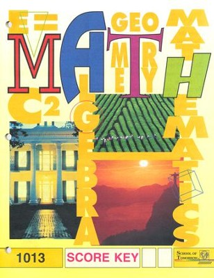 Latest Edition Math PACE SCORE Key 1013 Grade 2  -