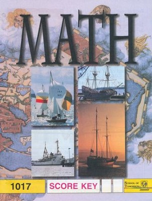Latest Edition Math PACE SCORE Key 1017 Grade 2  -