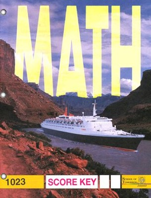 Latest Edition Math PACE SCORE Key 1023, Grade 2   -
