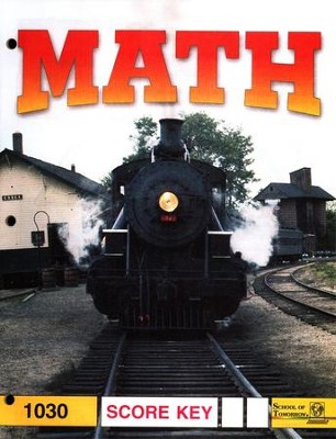 Latest Edition Math PACE SCORE Key 1030 Grade 3  -
